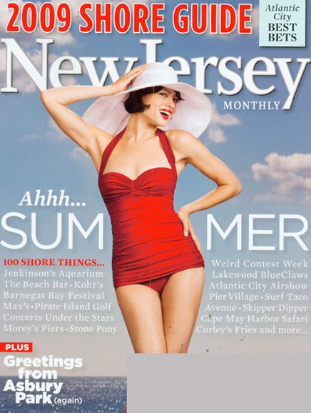New Jersey Monthly Cover - 6/1/2009