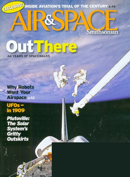 Air & Space Cover - 7/1/2009