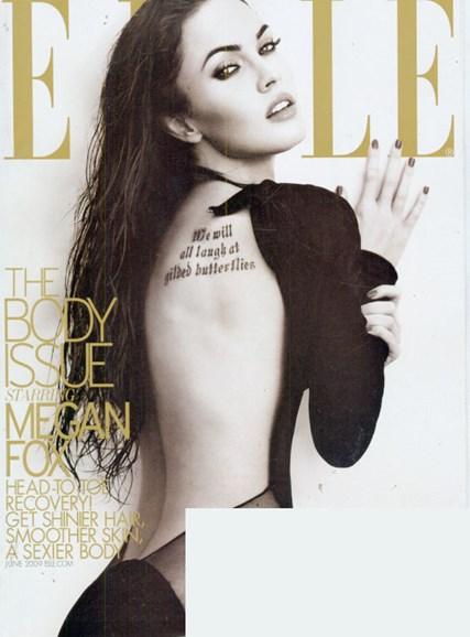ELLE Cover - 6/1/2009