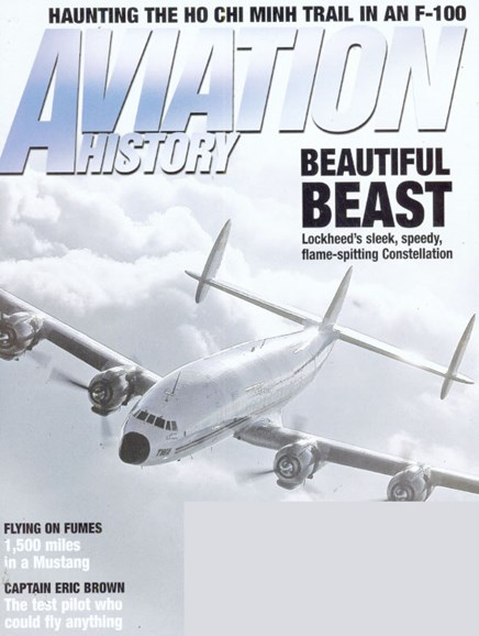 Aviation History Cover - 7/1/2009
