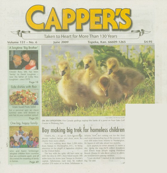 Capper's Cover - 6/1/2009