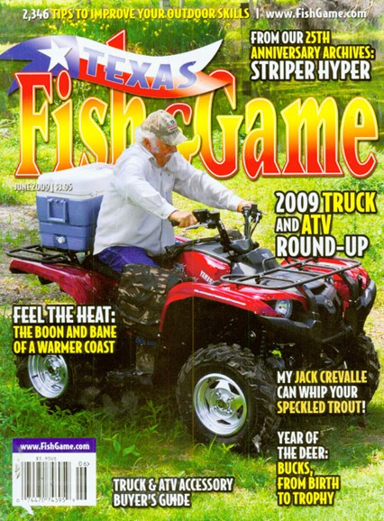 Texas Fish & Game Cover - 6/1/2009