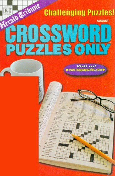Herald Tribune Crossword Puzzles Only Cover - 8/1/2009