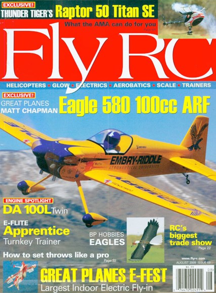 Fly RC Cover - 8/1/2009