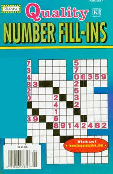 Quality Number Fill-ins | 8/2009 Cover