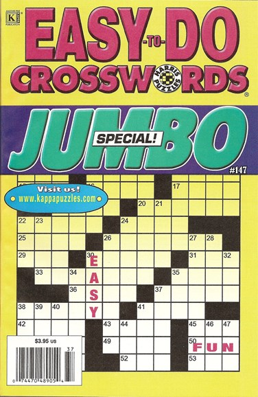Lots of Easy Crosswords Cover - 8/1/2009