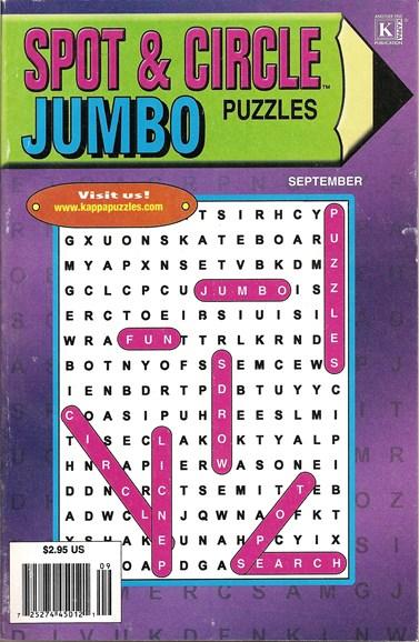 Spot & Circle Jumbo Cover - 9/1/2009
