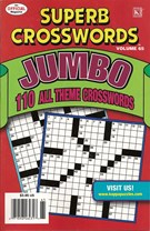 Superb Crosswords Jumbo Magazine 8/1/2009