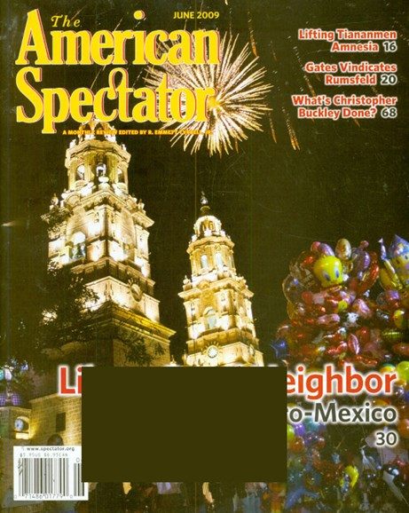 The American Spectator Cover - 6/1/2009