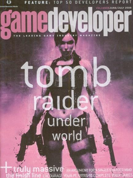 Game Developer Cover - 6/1/2009