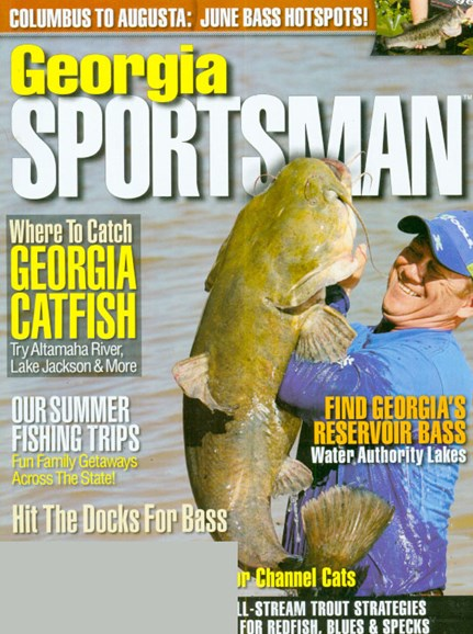 Georgia Sportsman Cover - 6/1/2009