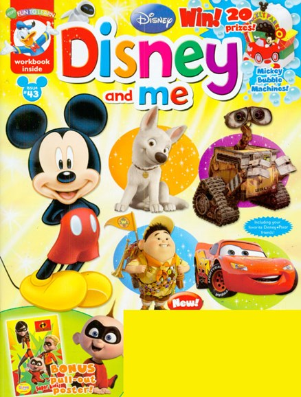 Disney Junior Cover - 7/1/2009
