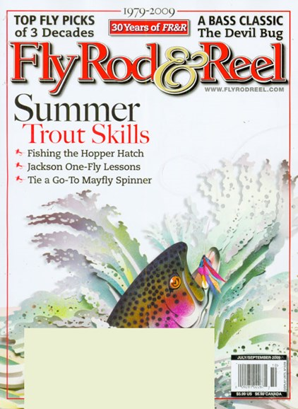 Fly Rod & Reel Magazine Cover - 7/1/2009