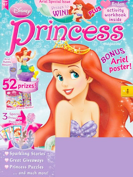 Disney Princess Cover - 7/1/2009
