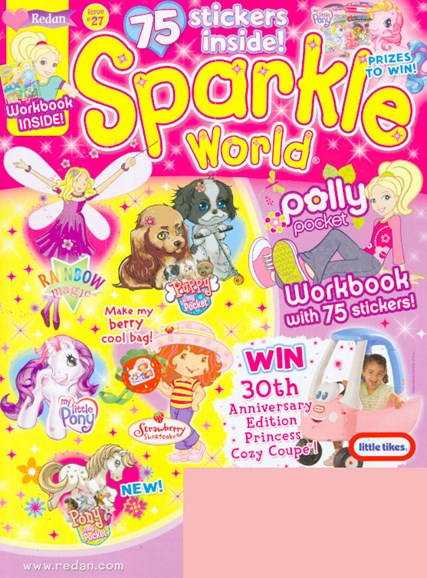 Sparkle World Cover - 7/1/2009