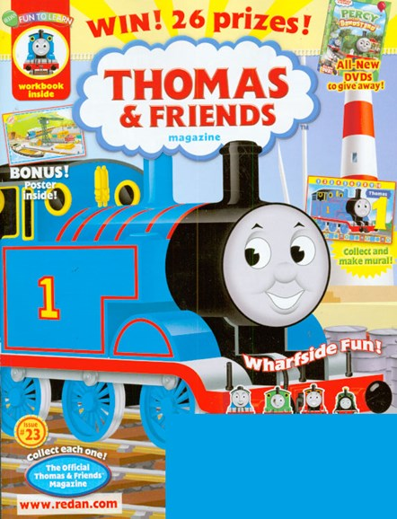Thomas & Friends Cover - 7/1/2009