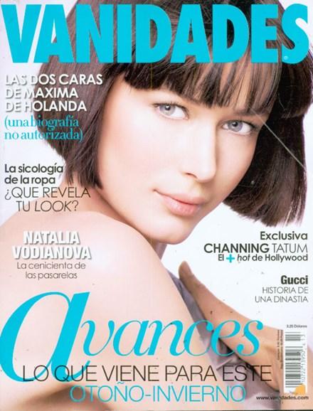 Vanidades Cover - 6/1/2009