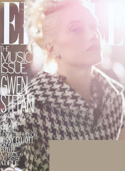 ELLE Cover - 7/1/2009