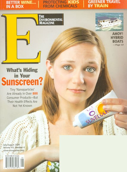 E: The Environment Magazine Cover - 7/1/2009