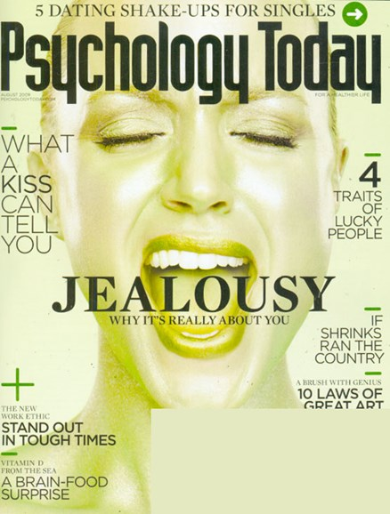 Psychology Today Cover - 8/1/2009