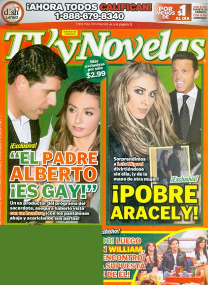 Tv Y Novelas Cover - 7/1/2009