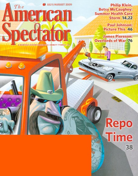 The American Spectator Cover - 7/1/2009