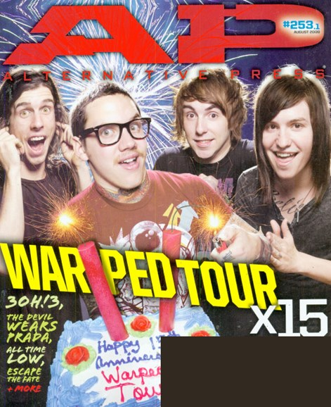 Alternative Press Cover - 7/1/2009