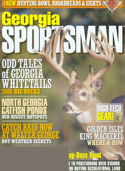 Georgia Sportsman Cover - 7/1/2009