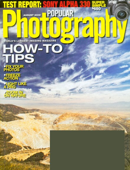Popular Photography Cover - 8/1/2009