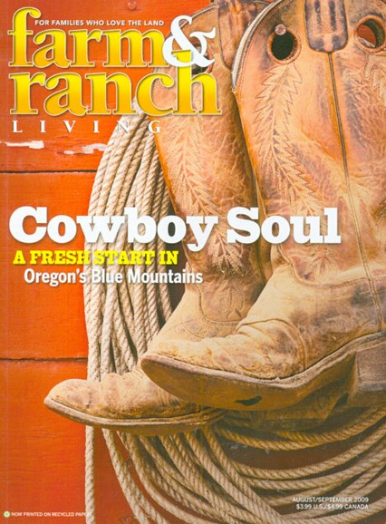Farm & Ranch Living Cover - 9/1/2009
