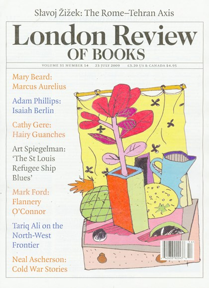 London Review Of Books Cover - 7/1/2009