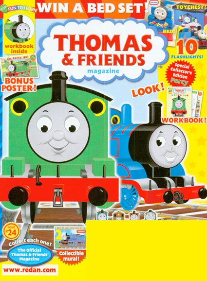 Thomas & Friends Cover - 8/1/2009