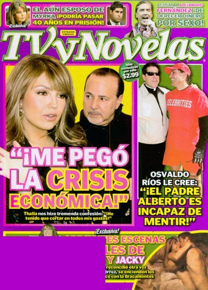 Tv Y Novelas Cover - 7/1/2009