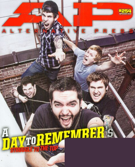 Alternative Press Cover - 9/1/2009