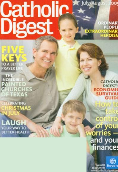 Catholic Digest Cover - 7/1/2009
