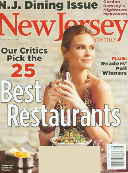 New Jersey Monthly Cover - 8/1/2009