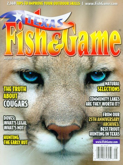 Texas Fish & Game Cover - 8/1/2009
