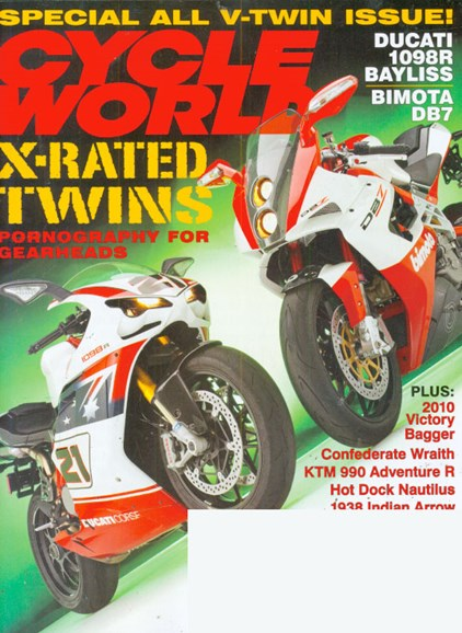Cycle World Cover - 9/1/2009