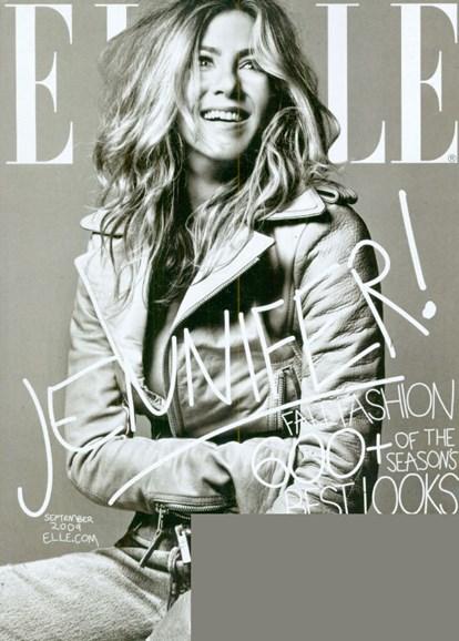 ELLE Cover - 9/1/2009