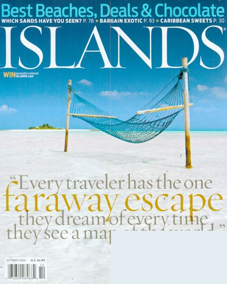 Islands Cover - 10/1/2009