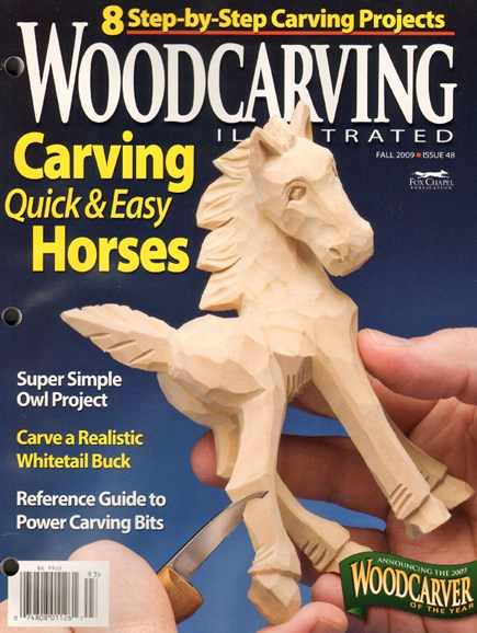 Wood Carving Illustrated Cover - 9/1/2009