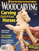 Wood Carving Illustrated Magazine 9/1/2009
