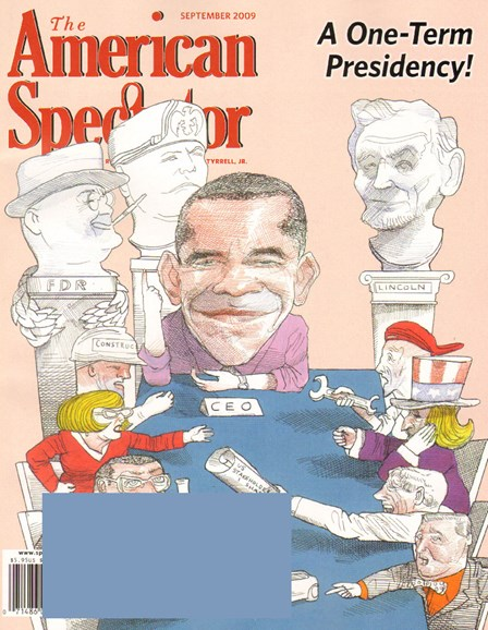 The American Spectator Cover - 9/1/2009