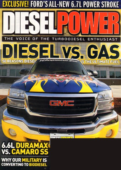 Diesel Power Cover - 10/1/2009