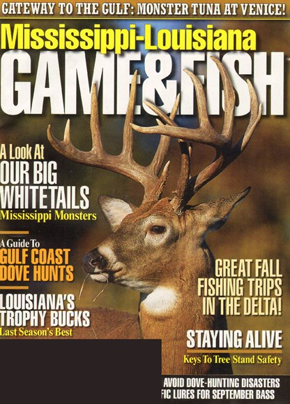 Mississippi Game & Fish Cover - 9/1/2009