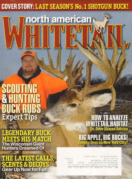 North American Whitetail Cover - 9/1/2009