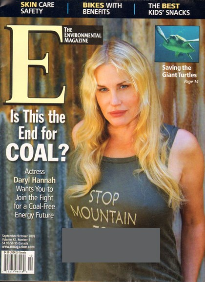 E: The Environment Magazine Cover - 9/1/2009