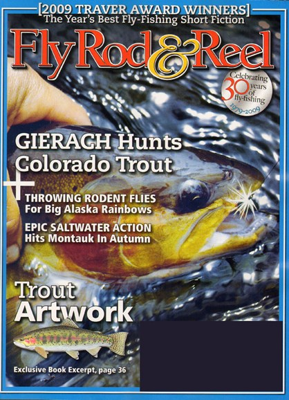 Fly Rod & Reel Magazine Cover - 10/1/2009