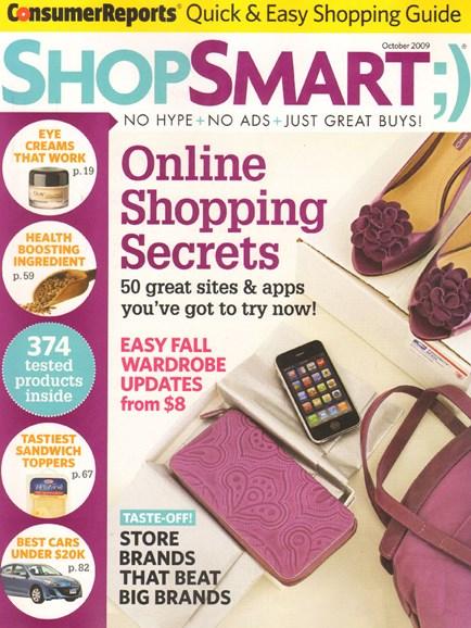 Shop Smart Cover - 10/1/2009