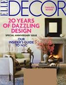 ELLE DECOR Magazine 10/1/2009